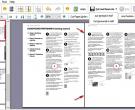 Rozříznutí listu PDF manuálu